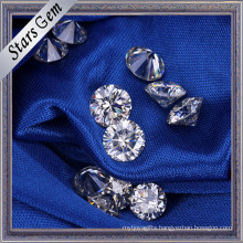 Factory Customized Wholesale Price 6.5mm Round Brilliant China Moissanite