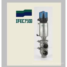 Válvula pneumática de aço inoxidável (IFEC-PR100002)