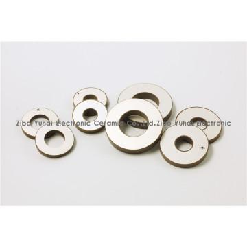 Piezoceramic Ring Parts Ultrasonic machining OD15xID7x4mm