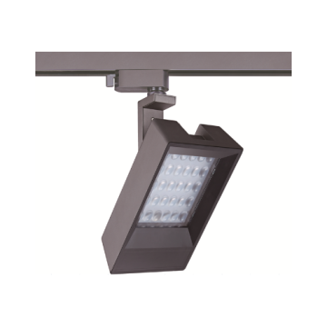 Éclairage sur rail rectangulaire dimmable 30W LED