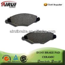 D1143 pedal de metal del coche de metal semi-metal pad