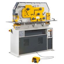 Machine combinée de poinçonnage et de cisaillement en fer forgé hydraulique)