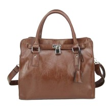 Tote in pelle da donna vintage ideale per il business
