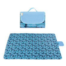 High quality summer sleeping mat 600D oxford with PVC material waterproof baby play flooring mat