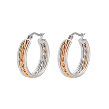 E-598 Xuping  Promotion Elegant popular Hoop earring Fashion Multicolor Jewelry Earrings