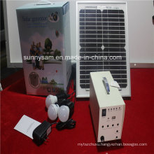 100W Solar Power Home System for Home Lighting