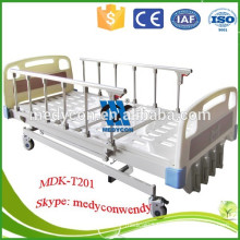 five functions Manual adjustable hospital  bed