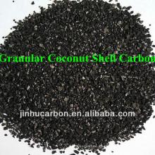 8-30 Carbón activado con cáscara de coco de malla