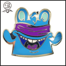 Cartoon enamel doll collar pins metal