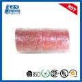 Огнезащитная красная виниловая лента