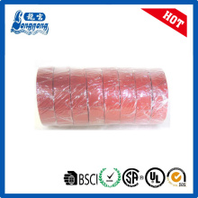Flame retardant Red vinyl tape