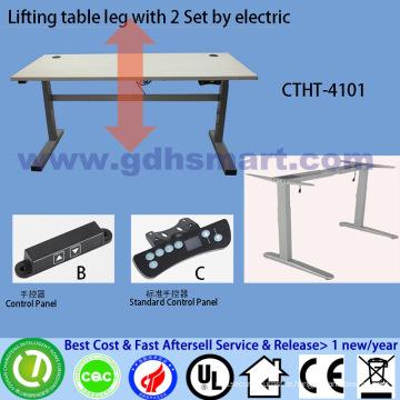 furniture designed for salon adjustable height metal table legs height adjustable table