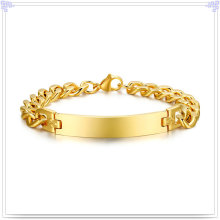Stainless Steel Bracelet Fashion Jewelry ID Bracelet (HR158)