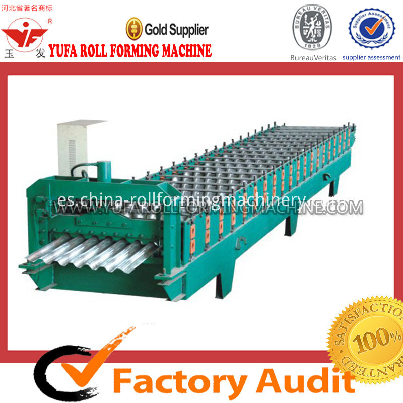 780 IBR corrugated roof tile roll forming machine