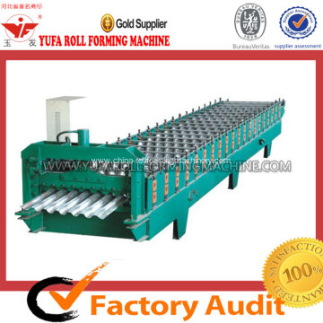 High Strength Steel Corrugation Roofing Sheet Forming Machine