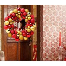 55PCS Christmas ball wreath