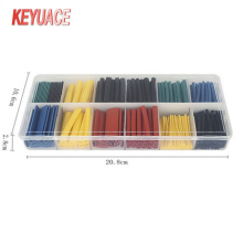 280PCS Heat Shrink Tube kit dengan kotak