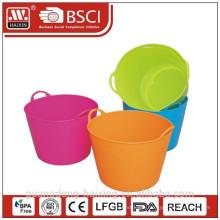 Plastic PE bucket/ice bucket/plastic handy basin