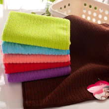 Warp Knitting Kitchen Tools Microfiber Fast Drying Towel