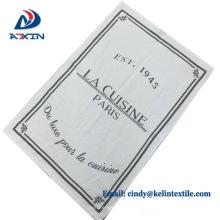 Toallas de té al por mayor del lino / del algodón del uso de la cocina de la fábrica de China para la promoción