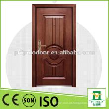 Puerta de entrada de seguridad de acero blindado de Alibaba