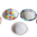 Wenzhou hydraulics automatic machine paper plate for disposable Paper Dish Making