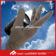 customize microfiber gloves for handing and cleaning eye glasses, watches,jewelry