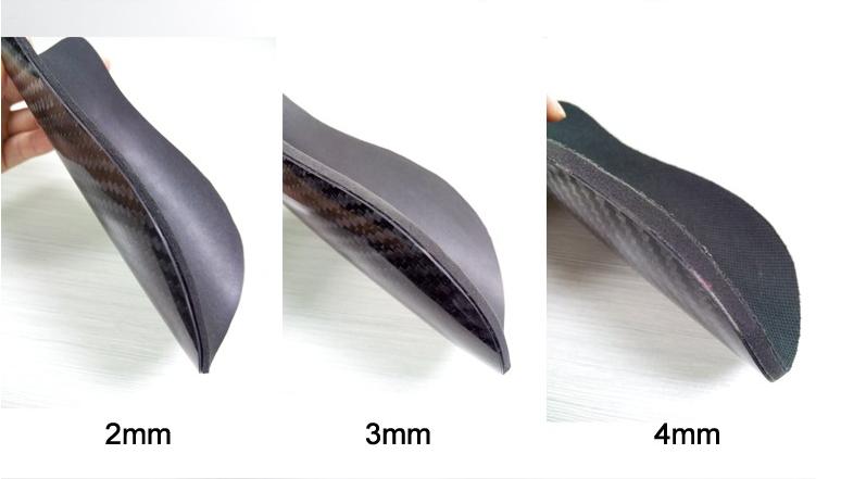 carbon fiber knee guard size 1