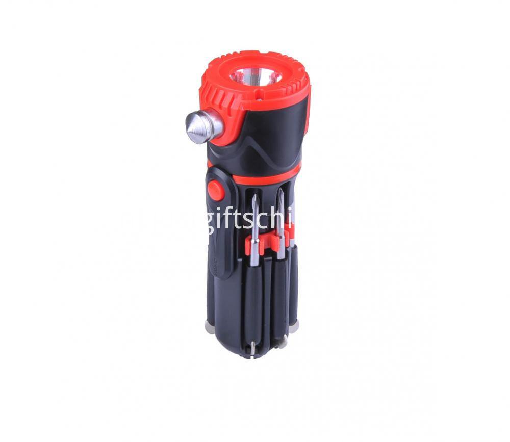 Personalized Multifunction Emergency Hammer W Flashlight (2)