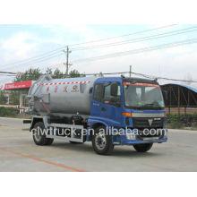 Factory Price Foton 4x2 8 cbm camion citerne d'eaux usées au Kenya