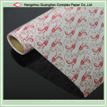 OEM Food Wrapping Use Printed Parchment Paper