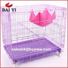 Хорошая Цена Прочный Складной Металлический Клетка Cat, Кошка Перевозчик
