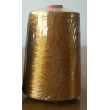 real gold polyester embroidery thread,100% polyester filament yarn