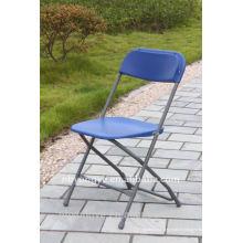 Fiesta chaise pliante en poly métal