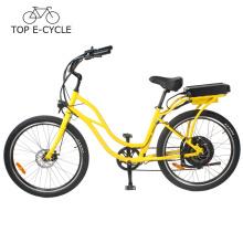 Beliebtes Cruiser elektrisches Fahrrad 2017 hergestellt in China