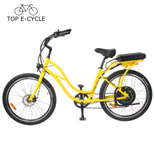 2017 bicicleta elétrica Popular Cruiser made in China