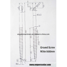 Ground Anchor Screw/Solar Ground Mounting System