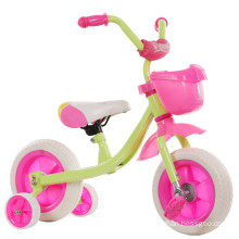 2016 new children tricycle in three wheel pink princess tricycle baby tricycle factory