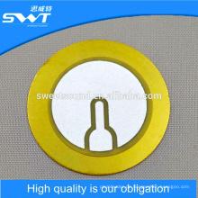 37mm 3.9khz piezoelektrischen keramischen Disc Wireless Buzzer Element