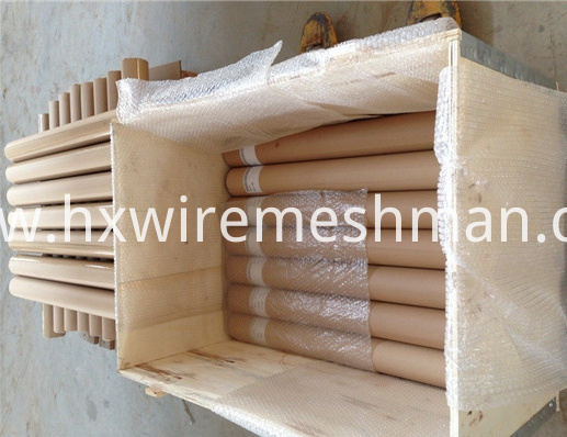 packing of wire mesh