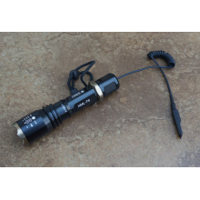 CREE T6 светодиодный фонарик с переключателем давления