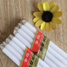 OEM Home Decoration White Wax Pillar Candle