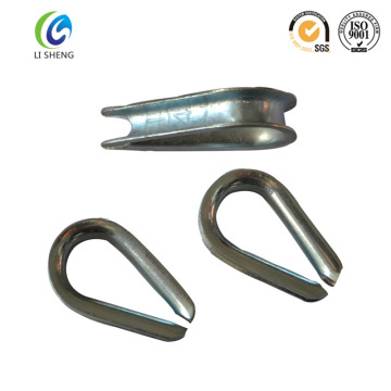 G411 U. S. Type Standard Wire Rope Thimble