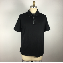 Черные мужские рубашки поло Рубашки для офиса и отдыха