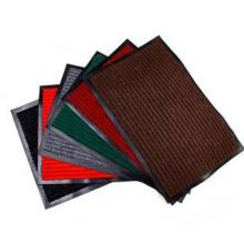Alfombra de tela no tejida raya superior rollos alfombra de piso