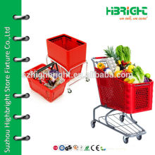 classic plastic shopping carts for American market