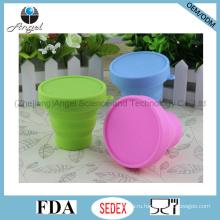 170 мл складной силиконовой питьевой чашки водяной чашки чашки кофе Scu01