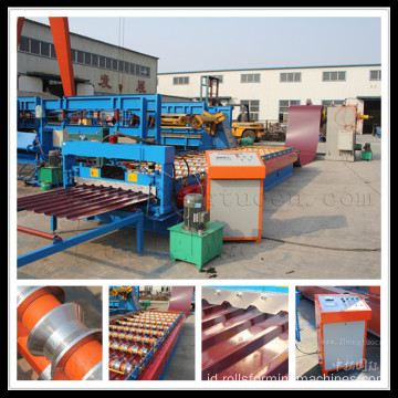 roll dingin membentuk mesin sheet metal forming machine