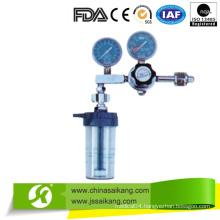 2015 New Design Double Gauge Oxygen Flowmeter