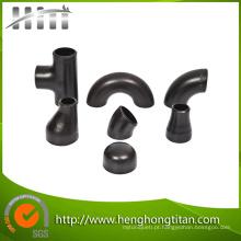 Encaixes de tubulação de aço carbono (cotovelo, tampa, redutor)